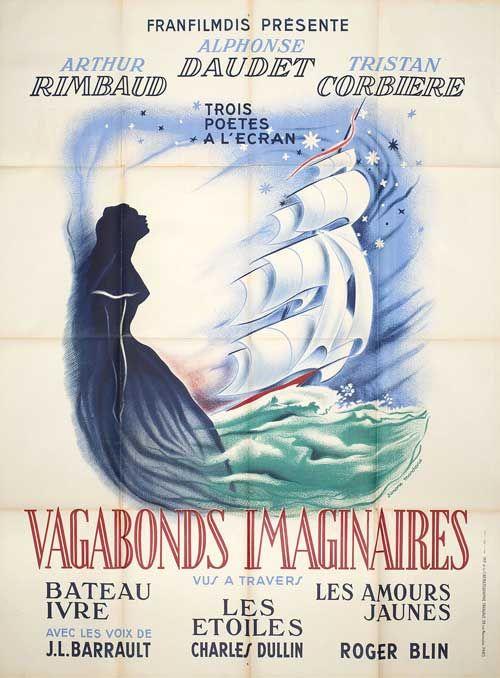 Posteritati: Vagabonds imaginaires 1950 France Grande (47x63)