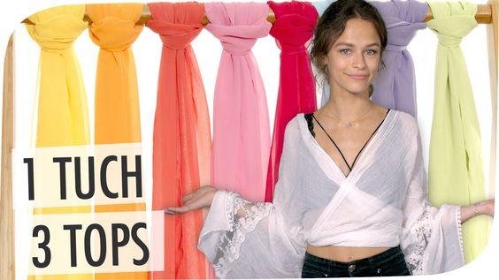 ► Noch mehr Fashion auf dem ASOS Deutschland YouTube Channel: http://bit.ly/1lqrkFW Tücher binden Anleitung: Aus einem Tuch macht aMissMelle gleich drei vers...