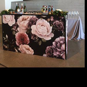 Large Flower Wallpaper Large Flower Mural Peel And Stick Etsy Floral Wallpaper Vintage Floral Wallpapers Large Flower Wallpaper