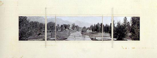 MIES VAN DER ROHE   Resor House, 1937-39  near Jackson Hole, Wyoming