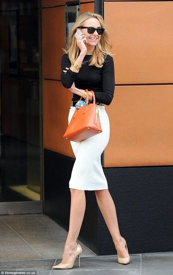Gorgeous Skirt Work Outfits For Office Women (19)