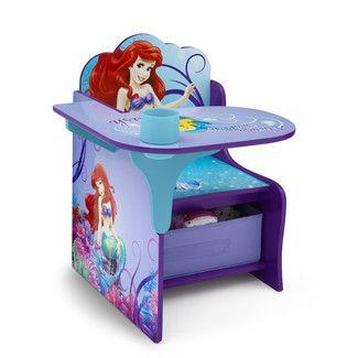 Delta Children Little Mermaid Kid Desk Chair