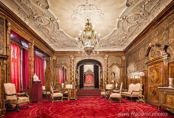 The Imperial Suite, Peles Castle, Romania by Andrei Robu - RoSonic.photos on 500px