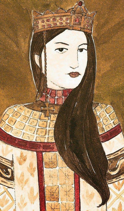ANA COMNENO fue una princesa bizantina de gran cultura, hija del emperador bizantino Alejo I Comneno y de Irene Ducas. Autora de La Alexiada, la historia del reinado de su padre, convirtiéndose así en una de las primeras mujeres historiadoras occidentales. Hija del emperador Alejo I Comneno, recibió una esmerada educación que la convirtió en erudita en literatura bizantina, historia, geografía, mitología, e incluso filosofía. Se casó en 1097 con Nicéforo Brienio.