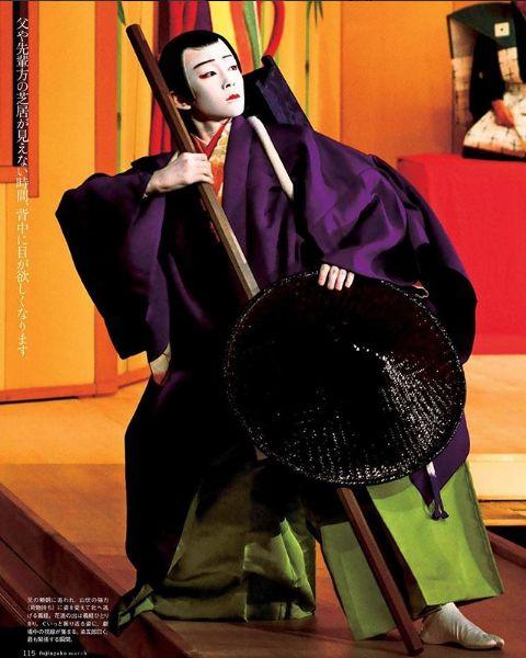 舞台で活躍する八代目市川染五郎のかっこいい画像