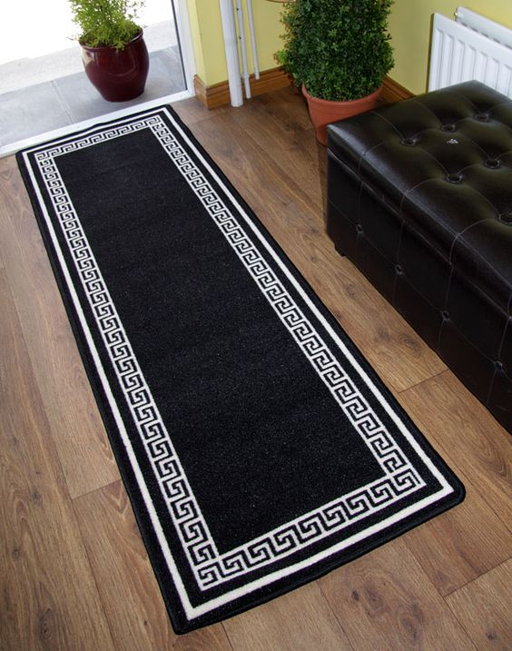 hallway rug runners | ... Non Slip Hall Runner Rugs Cheap New Long Easy