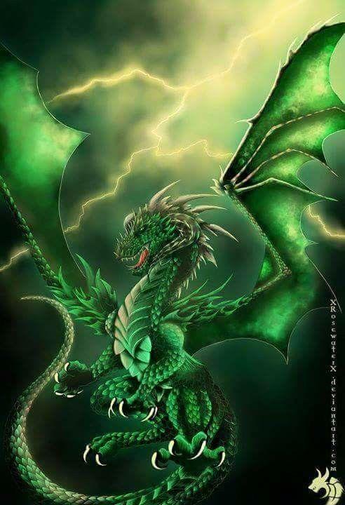 Dragon Green Dragon And Fantasy Artwork On Pinterest