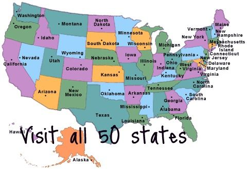 America S Mood Map An Interactive Guide To The United States Of Atude 50 States Buckets And Road Trips