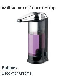 Hands Free Soap Dispenser Wall Mounted Counter Top Wall