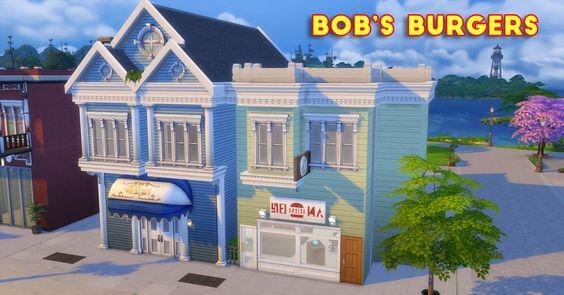 Sssvitlans Sims 4 Houses Bobs Burgers Bob