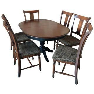Vintage Thomasville Dining Set  Kitchen Table & Chair Sets Magnificent Thomasville Dining Room Chairs Inspiration Design