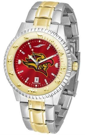 San Diego State Aztecs Men's Stainless Steel and Gold Tone Watch by SunTime. $93.95. Links Make Watch Adjustable. Men. Two-Tone Stainless Steel. Officially Licensed San Diego State Aztecs Men's Stainless Steel and Gold Tone Watch. AnoChrome Dial Enhances Team Logo And Overall Look. College two tone men's stainless steel and gold dress watch. A classic, business-appropriate look. San Diego State Aztecs wrist watch features a gold ion-plated bezel, stainless steel case and ...