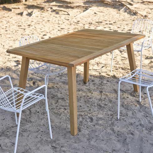 Gartentisch Aus Teakholz Verkauf Outdoormobel Pamoa Tikamoon Teak Gartenmobel Gartentisch Teak Esstisch