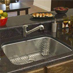 Franke USA Large Single Bowl Stainless Steel Undermount Kitchen Sink ...