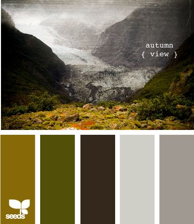 grey autumn colors
