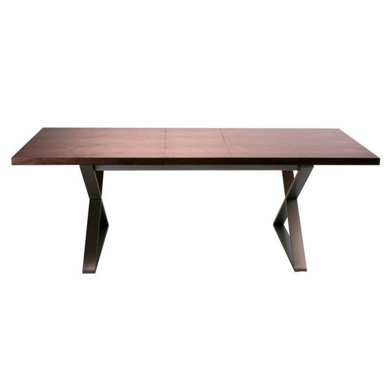 Moes Home Collection Cabello Extension Dining Table Brown - ER-1077-03