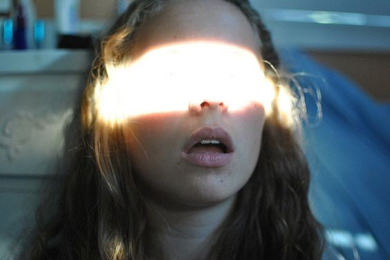 """A bright light flashed in her eyes, and in a distance someone spoke. """"Erase it. Destroy her mind.""""  (Previous pinner)"""