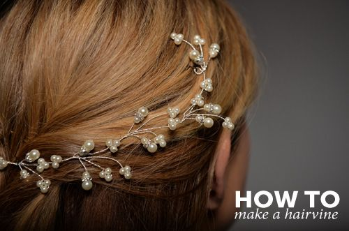 HOW TO HAIRVINE  Whole page of how tos for wedding jewellery
