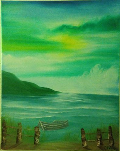 My Etsy shop where I will be selling paintings to fund my trip to Nicaragua!