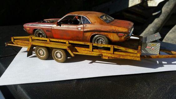 1 25 scale scratch built trailer by Adam Gore