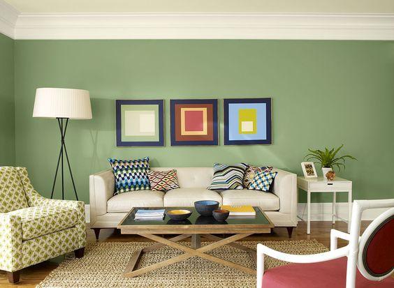 Living Room Ideas & Inspiration   Benjamin Moore, Office Color