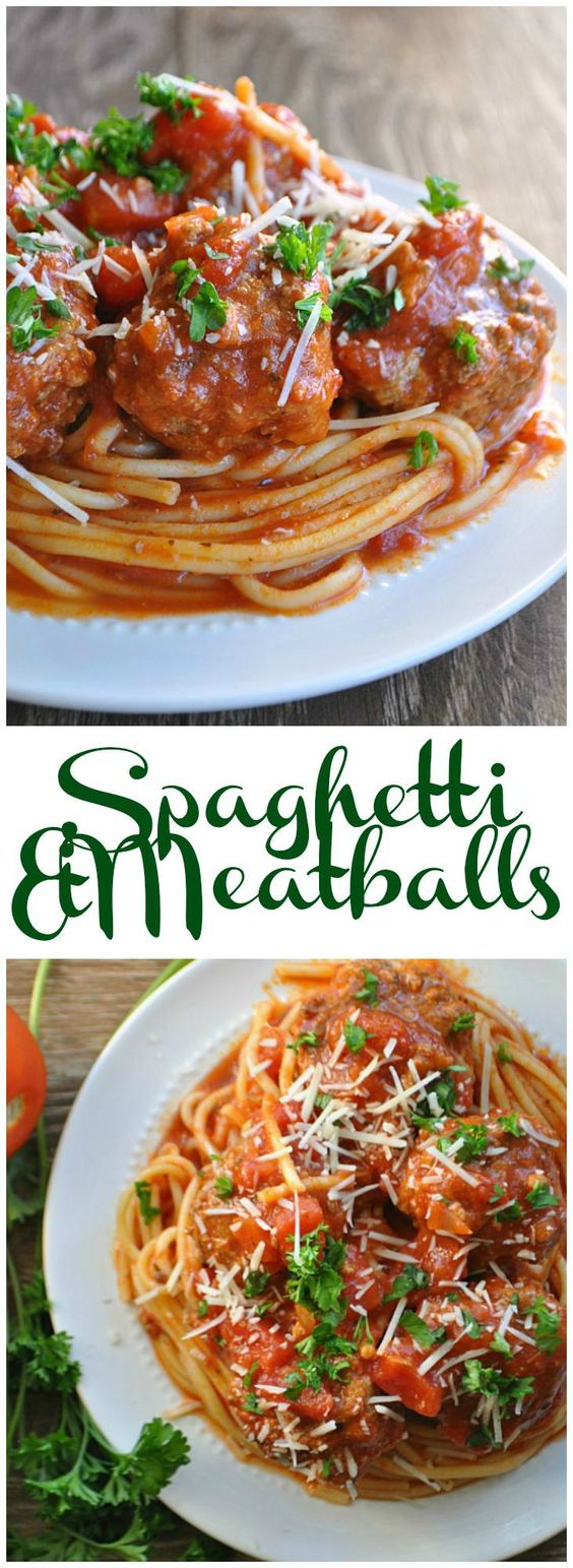 The one and only Spaghetti & Meatball recipe you will ever need!