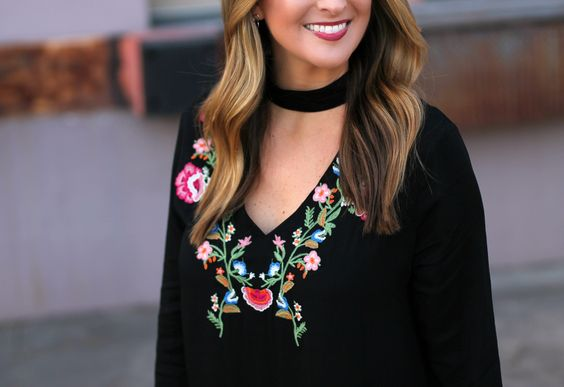 Embroidered Little Black Dress #LexWhatWear - #styleblogger #fashionblog #bloggerstyle #blog #outfittrends #outfitideas #styleinspo #styleguide #dresstrends #embroidery #embroidereddress #littleblackdressoutfit #nashvillestyle