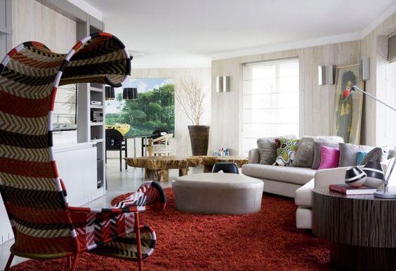 Urban Forest Interior by Fábio Galeazzo: Interior Design, Living Room, Design Residential Brazil, Design Styles