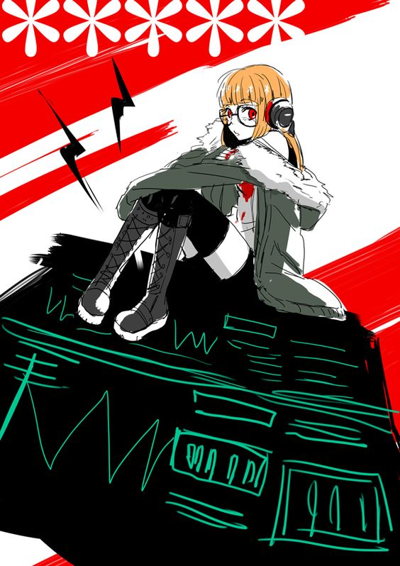 Persona 5 Futaba Sakura