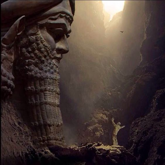 Lamassu Assyrian civilization Iraq