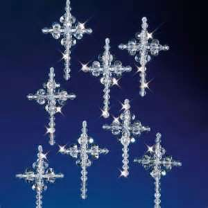 crystal christmas ornaments