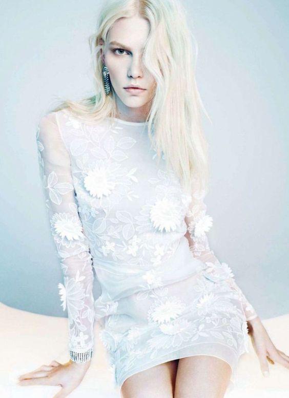 Aline Weber for Harper's Bazaar Spain