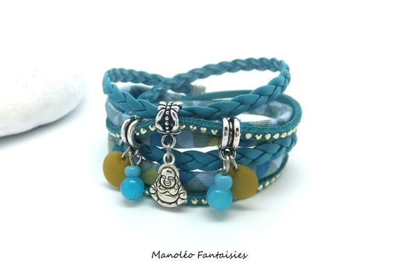 Bracelet BOUDDHA - Manoléo Fantaisies