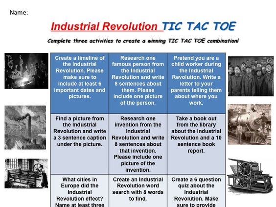 Can someone write a summary paragraph for this industrial revolution article?