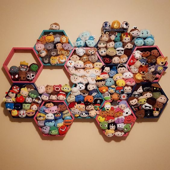 The best way to display my Tsum Tsum plush: