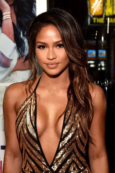Cassie Ventura's sleek, wavy hairstyle at the Premiere of Lionsgate's 'The Perfect Match'