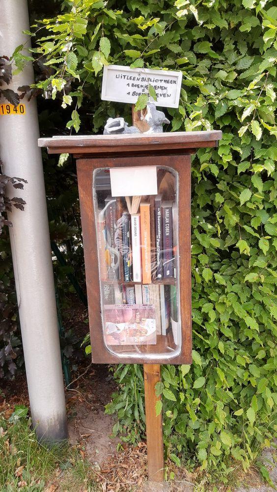 Boekenruilkastje Gentbrugge 8