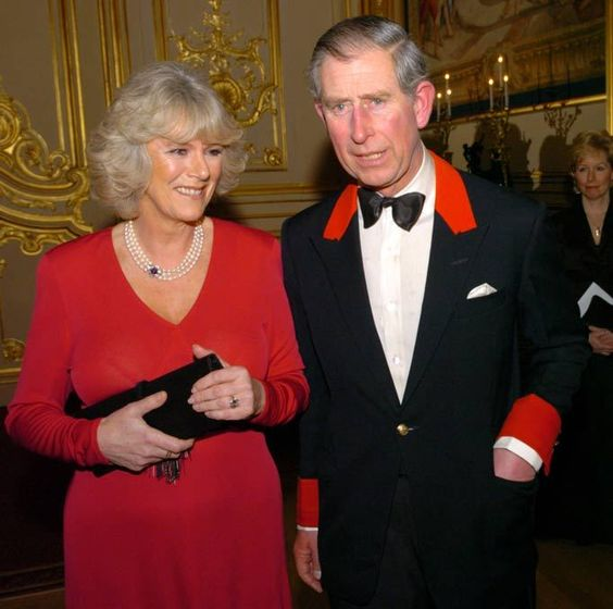 Prince Charles and Camilla Parker-Bowles announce their engagement at Windsor Castle on February 10 2005. Arthur Edwards Royal photos