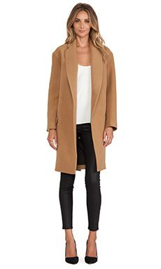 Felted Wool Full Length Coat | Coats Wool and Felted wool