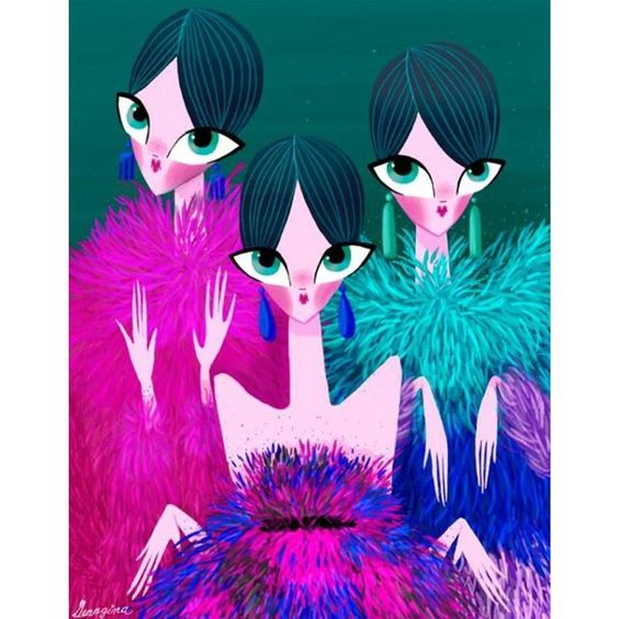 Georgina Chávez sur Instagram: @armani Fall couture 2015 #fashion #fashionillustration #illustration #hautecoutureweek #art #armani #georginachavez #cuu #mexico