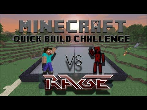 Minecraft Quick Build Challenge - Mage Tower! - YouTube