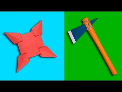 How to make a paper gun   Cool origami weapons tutorial easy step ...   360x480