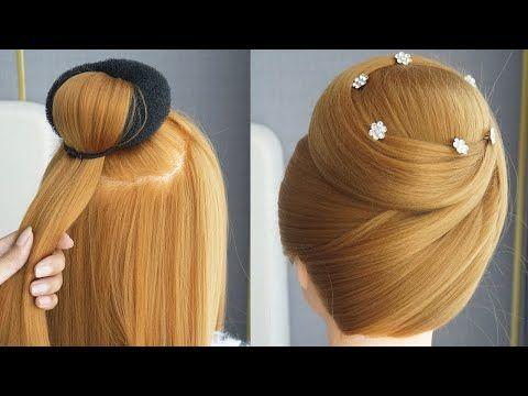 Coiffures Belles Coiffures Simples Coiffure Tresse New Juda Hairstyle With Gown Y Hochzeit Frisuren Tutorial Frisuren Tutorial Haare Flechten Anleitung