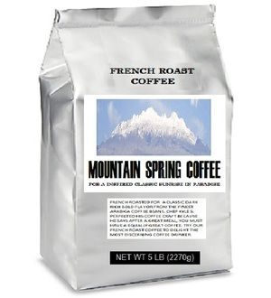 French Roast Coffee -MOUNTAIN SPRING COFFEE
