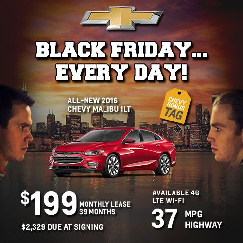New Chevrolet Specials In Chicago Chicago Chevrolet Dealers
