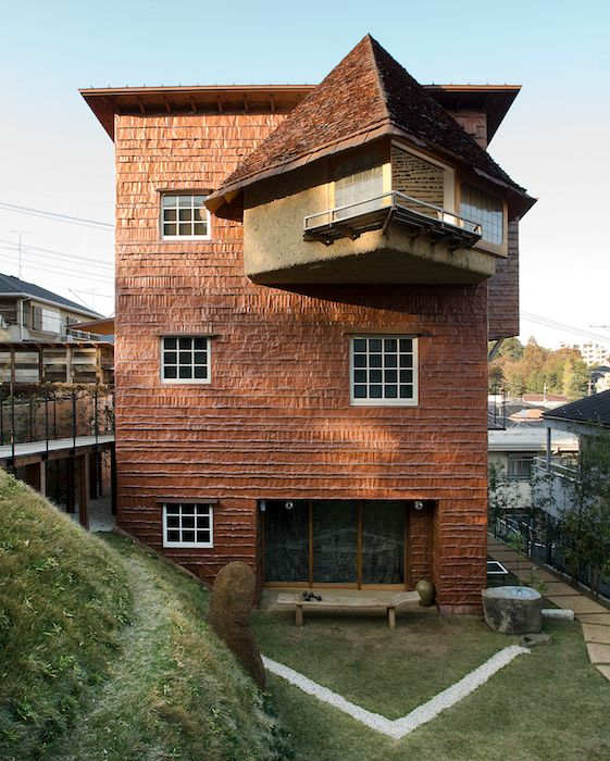 chocolate house by arch terunobu fujimori ph alessio guarino japan architecture pinterest. Black Bedroom Furniture Sets. Home Design Ideas