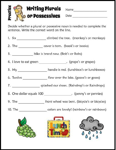 possessive noun activities for 4th grade whimsy workshop teaching plural and possessive nouns. Black Bedroom Furniture Sets. Home Design Ideas