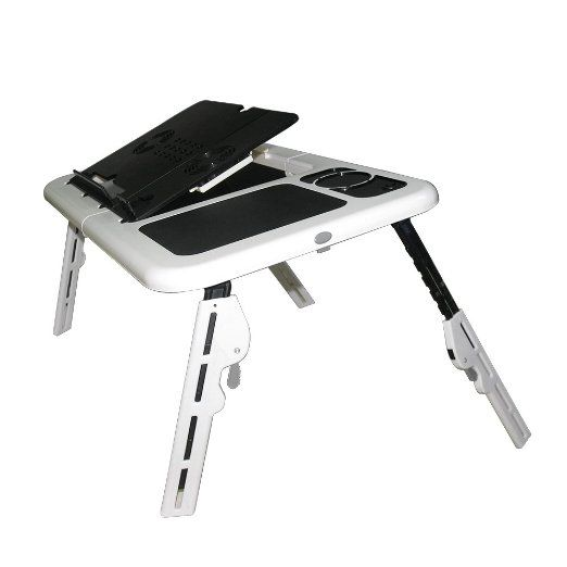 Generic Adjustable Foldable Laptop Table Portable Bed Tray Book Stand breit Tablet Lap Desk