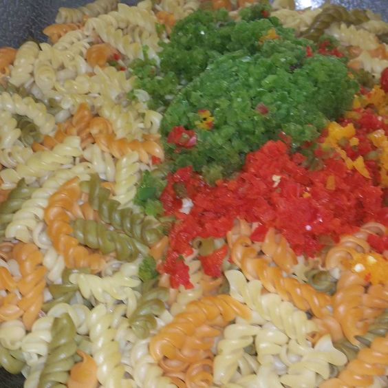 Did  someone say seafood  salad #goodfood #jamaicanfood #jamaicanrestaurant by thereggaegrill