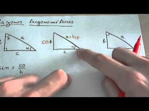 Razones Funciones Trigonométricas Youtube Sabre